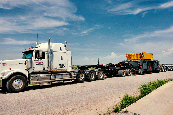 Oversized-load-freight