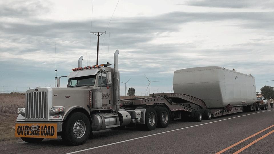 Heavy haul freight shipment