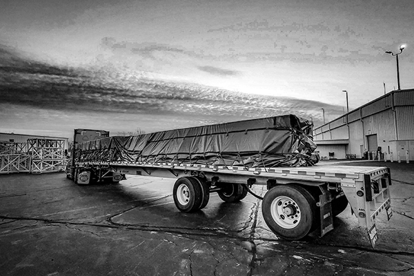 Tarped-flatbed-freight