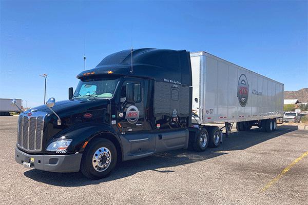 53 foot dry van freight shipment