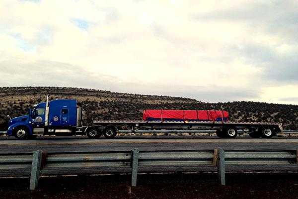 spread-axle-flatbed-trailer