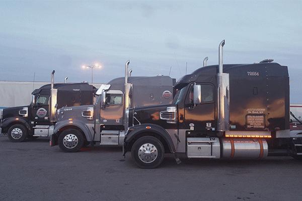 three-semi-tractors