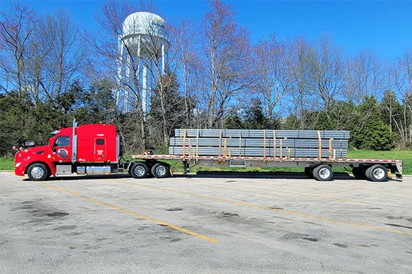 flatbed-steel-shipment