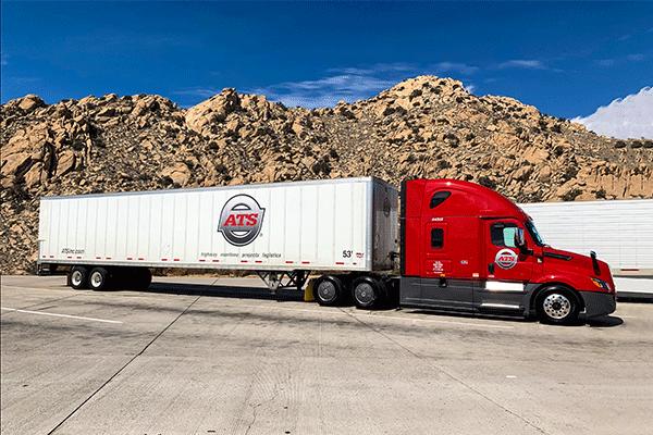 Dry-van-trailer
