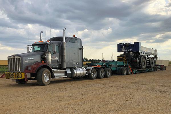 brokered freight on 10-axles