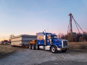 Heavy Haul Carrier Making Final Mile Delivery