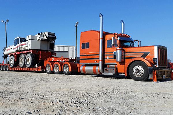 Oversized load shipment