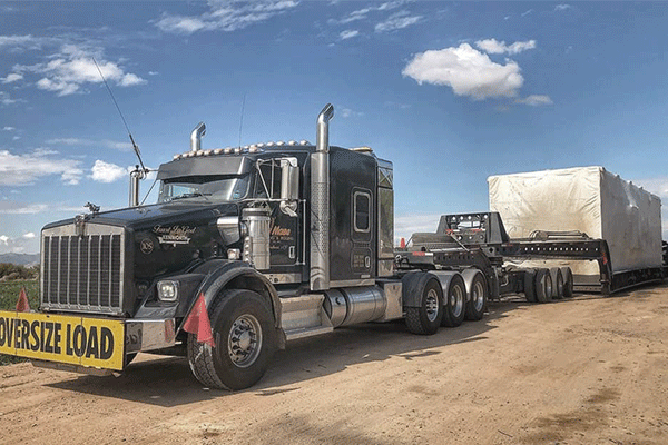 Oversize Load Shipment