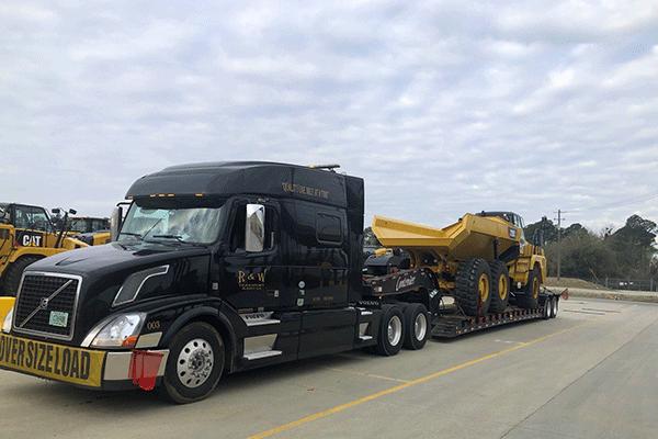 Oversized freight shipment
