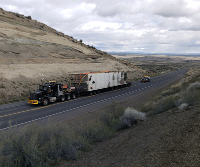 Freight Shipment on Highway