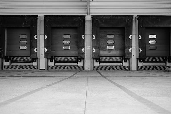 truck driver loading dock