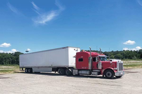 refrigerated semi trailer