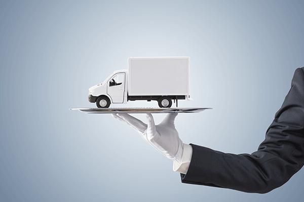 White Glove Shipping Graphic