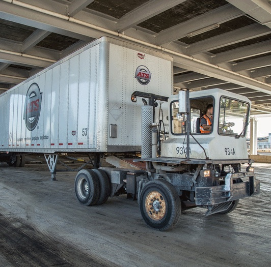 Roll-on Roll-Off ATS Truck